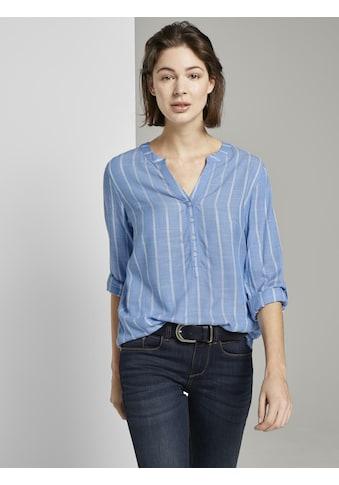 TOM TAILOR Shirtbluse »Strukturierte Bluse« kaufen