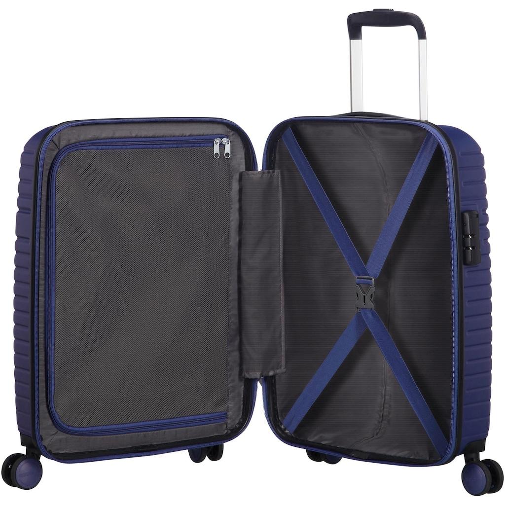 American Tourister® Hartschalen-Trolley »Aero Racer, 55 cm, nocturne blue«, 4 Rollen