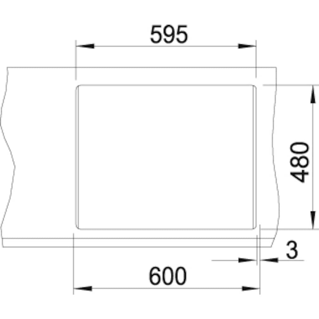 Blanco Granitspüle »METRA 6«, aus SILGRANIT®