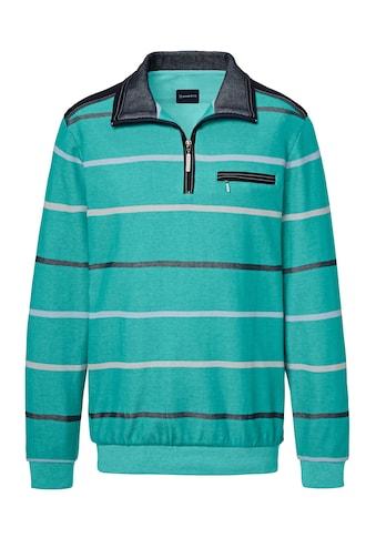 Babista Sweatshirt mit zweifarbigem Streifenmuster kaufen