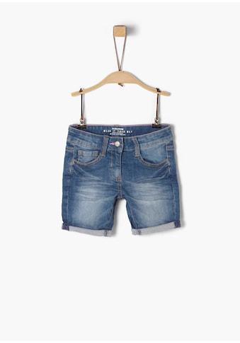s.Oliver Denim Shorts_für Mädchen kaufen