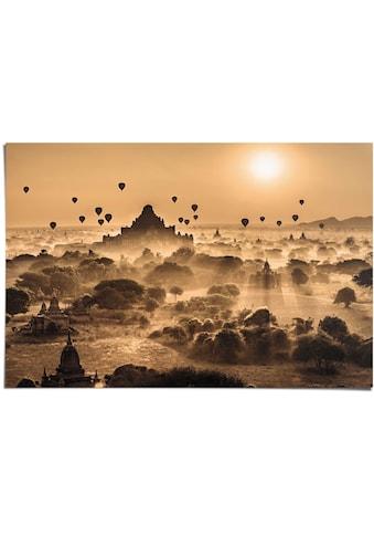 Reinders! Poster »Märchenhafter Sonnenaufgang«, (1 St.) kaufen
