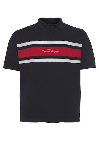 Tommy Hilfiger Big & Tall Poloshirt »BT-GLBL STP SIGNATURE REG POLO« kaufen