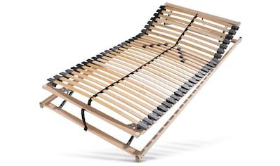 DELAVITA Lattenrost »Lennard«, 28 Leisten, Kopfteil manuell verstellbar, 7-Zonen Lattenrost mit manueller Kopf- und Fußteilverstellung kaufen