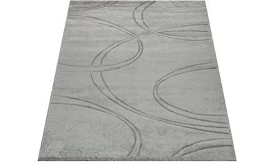Paco Home Teppich »Brilliance 757«, rechteckig, 18 mm Höhe, Kurzflor mit 3D-Muster,... kaufen