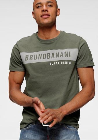 Bruno Banani T-Shirt, mit Markenprint kaufen