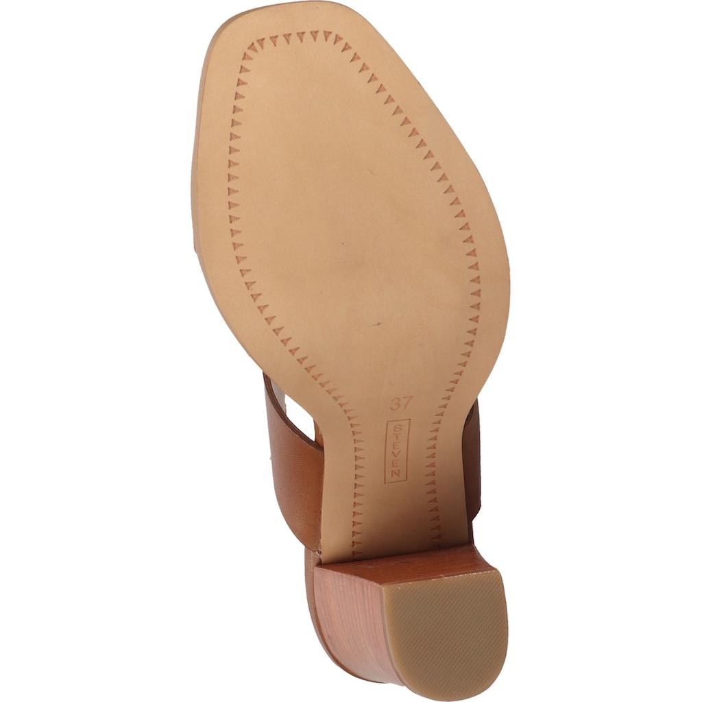 Steven New York High-Heel-Sandalette »Leder«