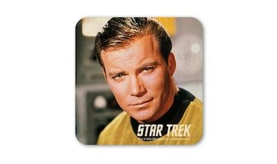 LOGOSHIRT Untersetzer mit Captain Kirk-Druck kaufen