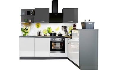 Express Küchen Winkelküche »Jena«, ohne E-Geräte, vormontiert, mit... kaufen