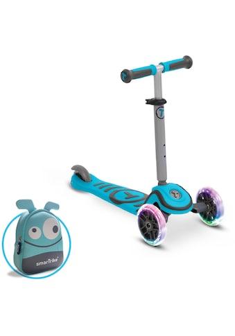 smarTrike® Dreiradscooter »T1, blau«, mit montierbarem Sitz und Federstahlbremse kaufen
