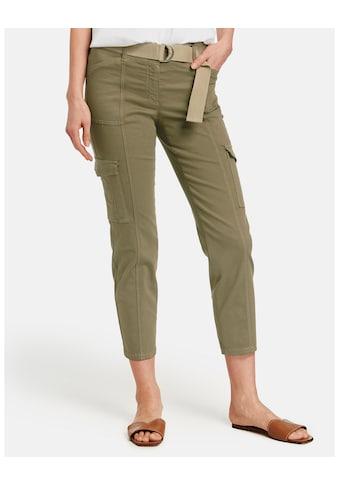 GERRY WEBER Hose Jeans verkürzt »Cargohose Best4me« kaufen