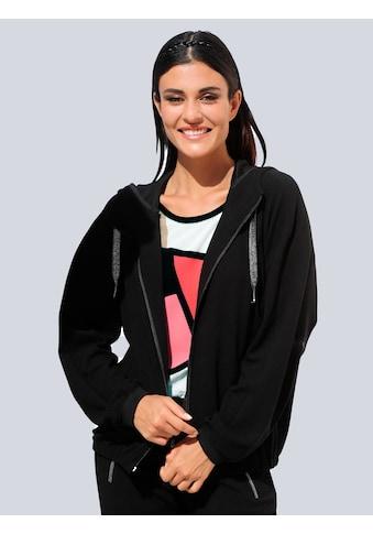 Alba Moda Sweatjacke, aus strukturierter Qualität kaufen