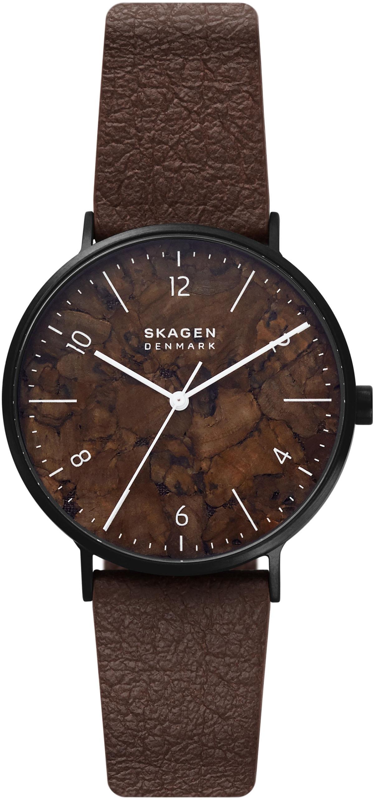 skagen -  Quarzuhr SKW6728, AAREN NATURALS, (1 tlg.)