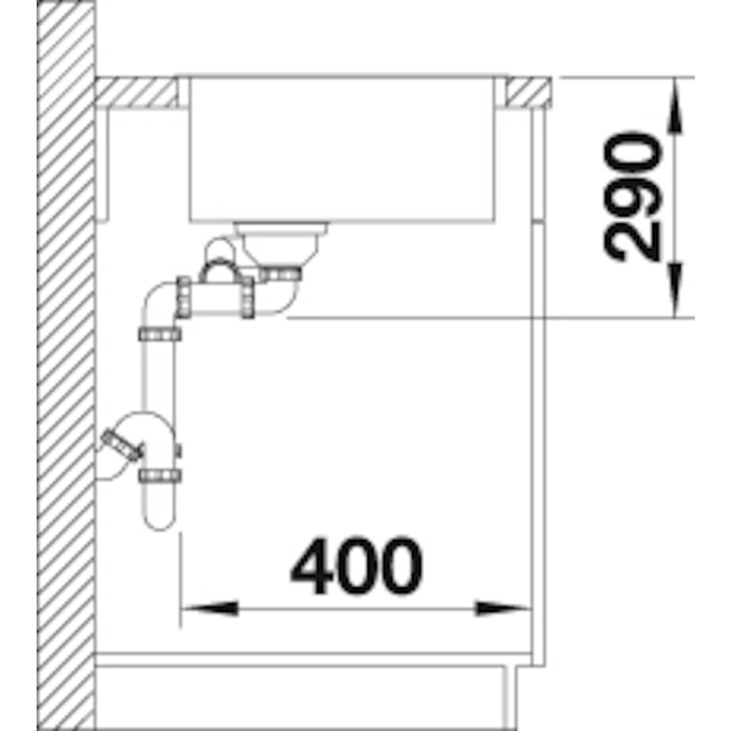 Blanco Küchenspüle »ANDANO 340/180-IF«