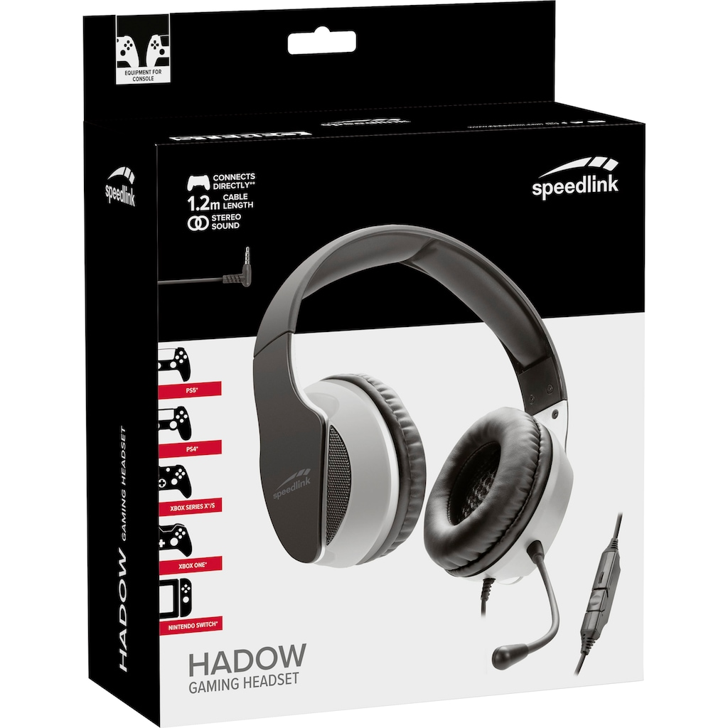 Speedlink Gaming-Headset »HADOW Gaming Headset for PS5/PS4/Xbox Series X/S«