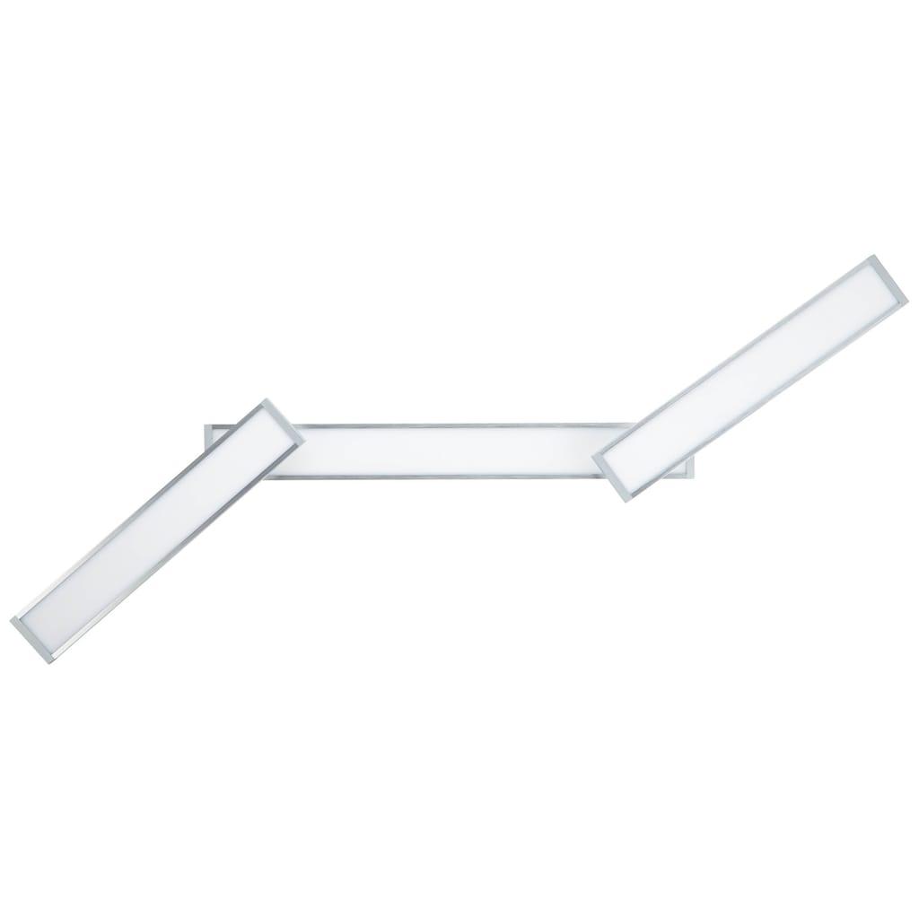 Brilliant Leuchten Entrance LED Deckenaufbau-Paneel 116x7cm alu/weiß easyDim