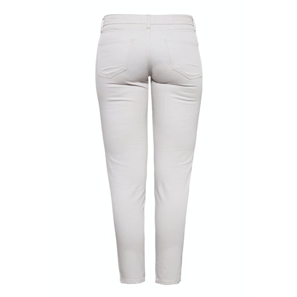 Way of Glory 5-Pocket-Jeans, im schlichten 5-Pocket-Design mit gekürzter Beinlänge
