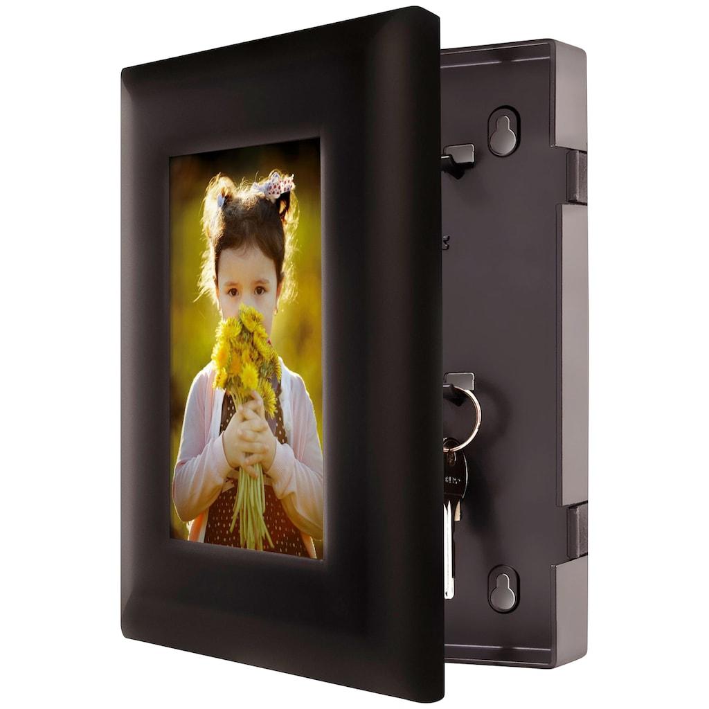 Master Lock Schlüsselkasten, für 5 Schlüssel, inkl. 5 Haken, ABS-Plastik, mit für 50 Schlüssel, Bild: 10x15 cm