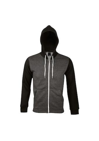 SOLS Kapuzennickijacke »Silver Unisex Kapuzenjacke / Kapuzen-Sweatshirt mit... kaufen