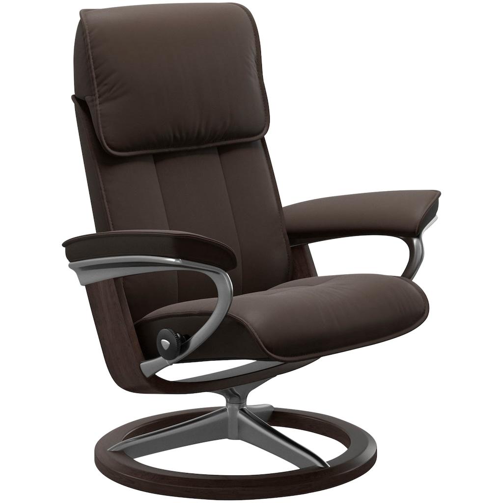 Stressless® Relaxsessel »Admiral«, mit Signature Base, Größe M & L, Gestell Wenge