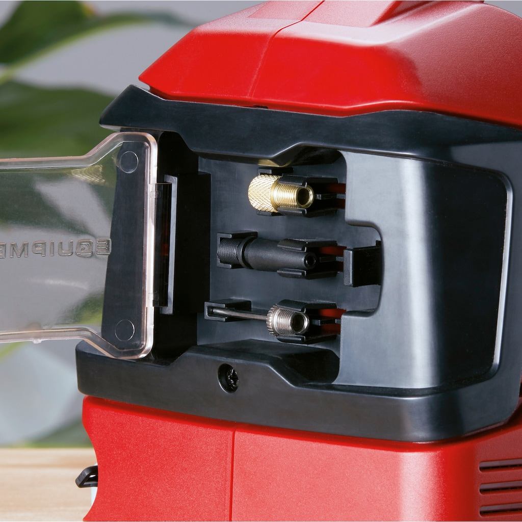 Einhell Kompressor »PRESSITO«, Power X-Change, 2,5 Ah, inkl. Akku, Ladeg., Absaug-Adapter