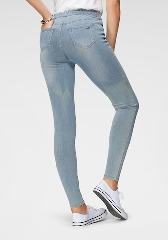 Arizona Jogg Pants »High Waist«, in Denim-Optik kaufen