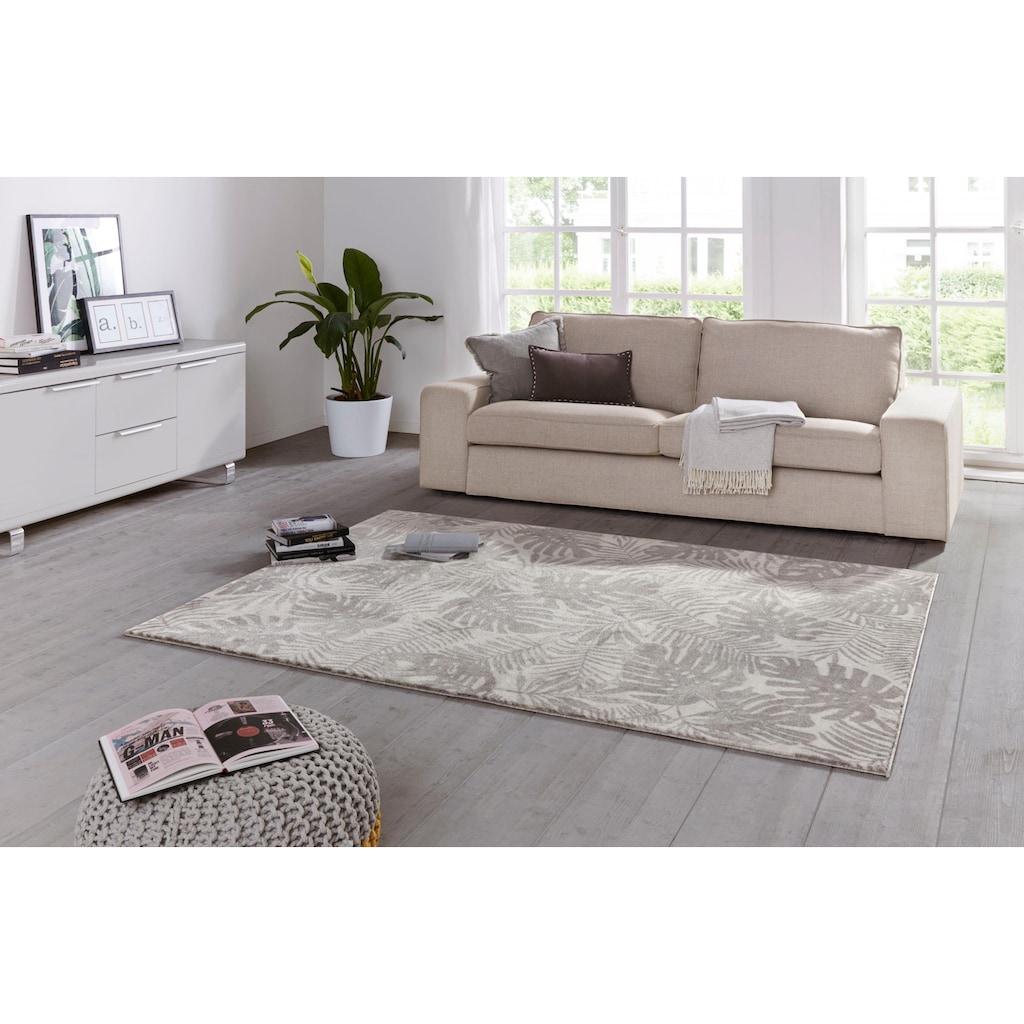 ELLE Decor Teppich »Charante«, rechteckig, 11 mm Höhe, Kurzflor, besonders weich durch Microfaser, Wohnzimmer