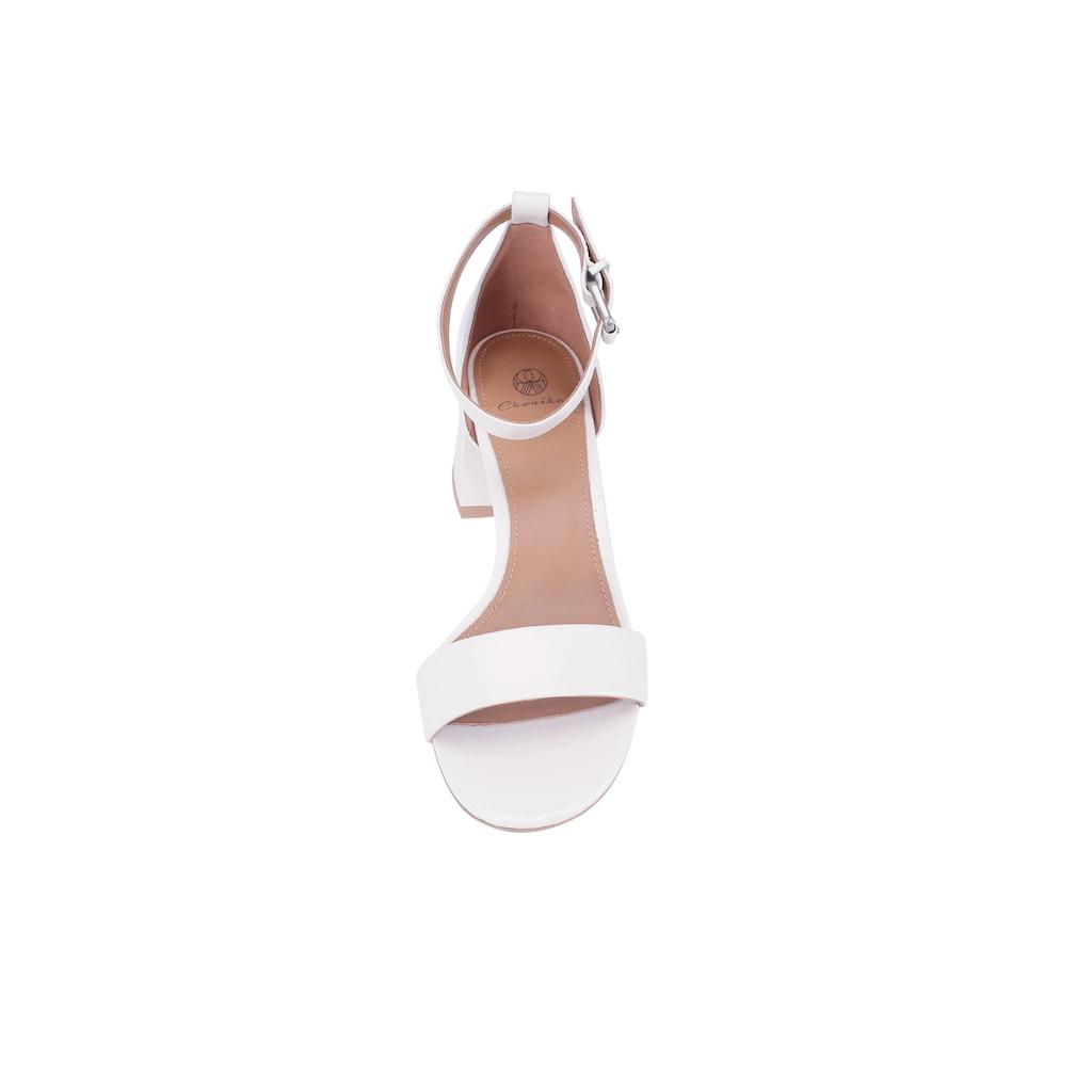 ekonika Sandale, hergestellt aus echtem Leder