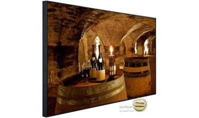 Papermoon Infrarotheizung »Weinkeller«, sehr angenehme Strahlungswärme kaufen