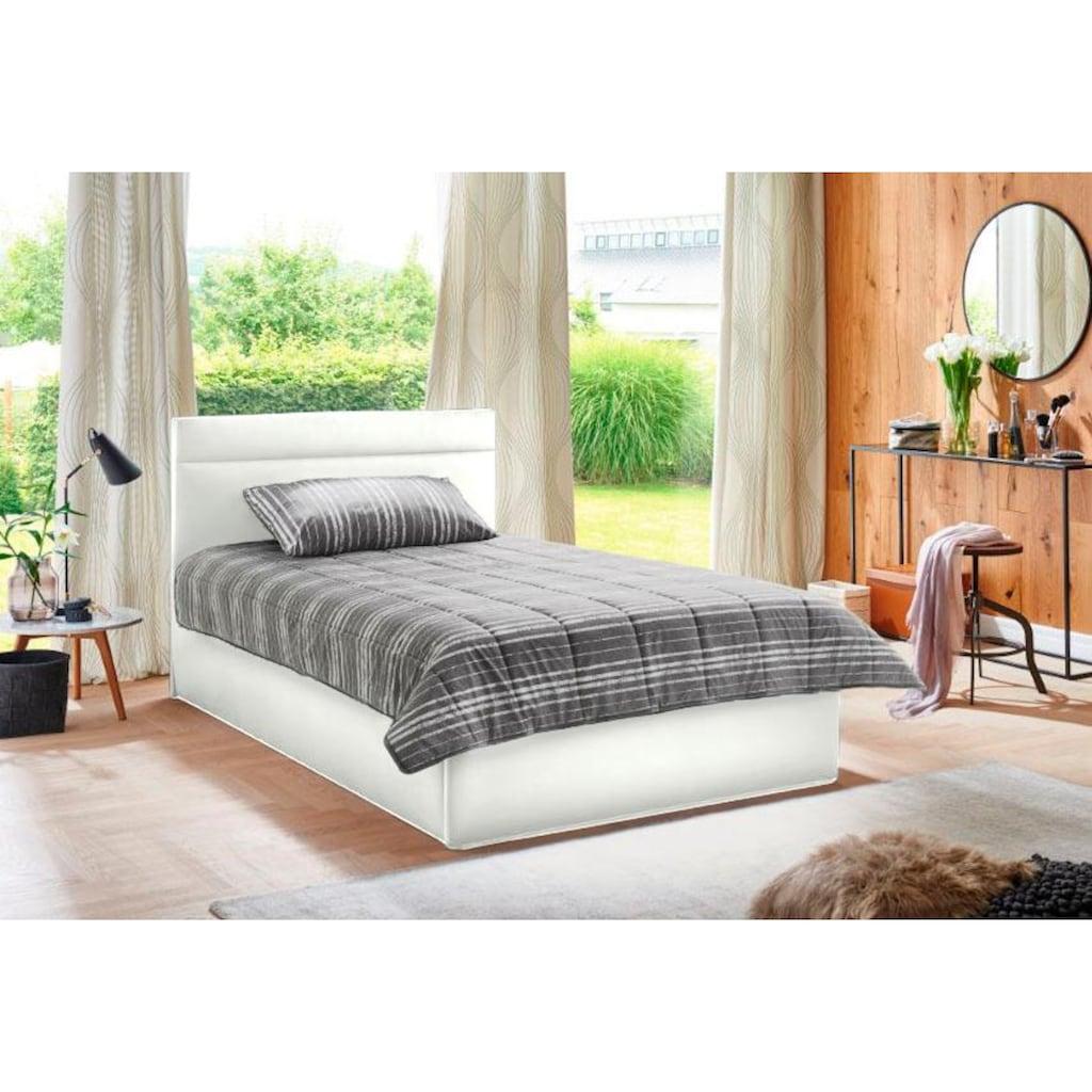 Westfalia Schlafkomfort Polsterbett, in 2 Liegehöhen, optional mit Bettkasten