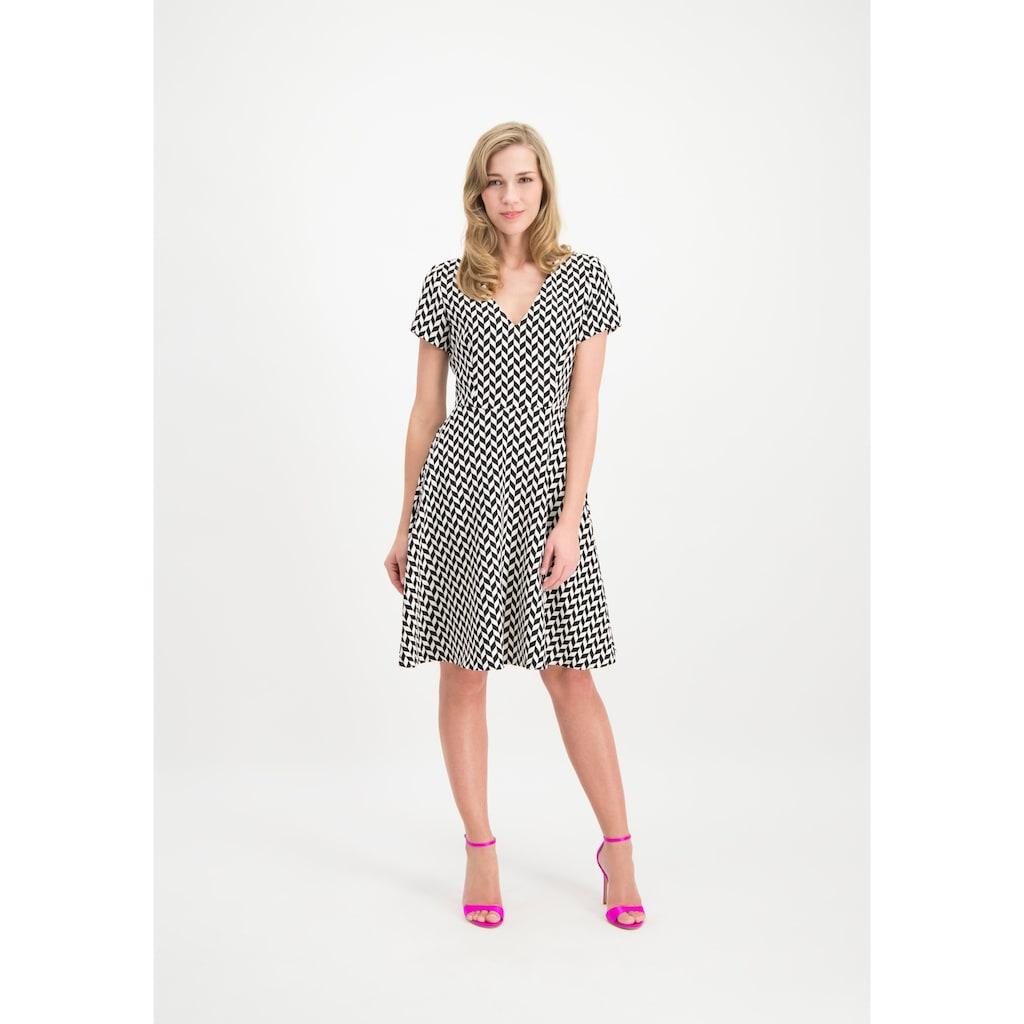 Nicowa Kleid NINIWA mit stilvollem Allover-Design