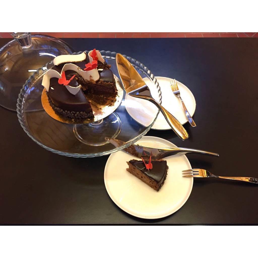 nurso Besteck-Set, (Set, 2 tlg.), für Kuchen, Edelstahl 18/10, 2-teilig