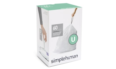 simplehuman Müllbeutel passgenaue Müllbeutel Nachfüllpack code U kaufen