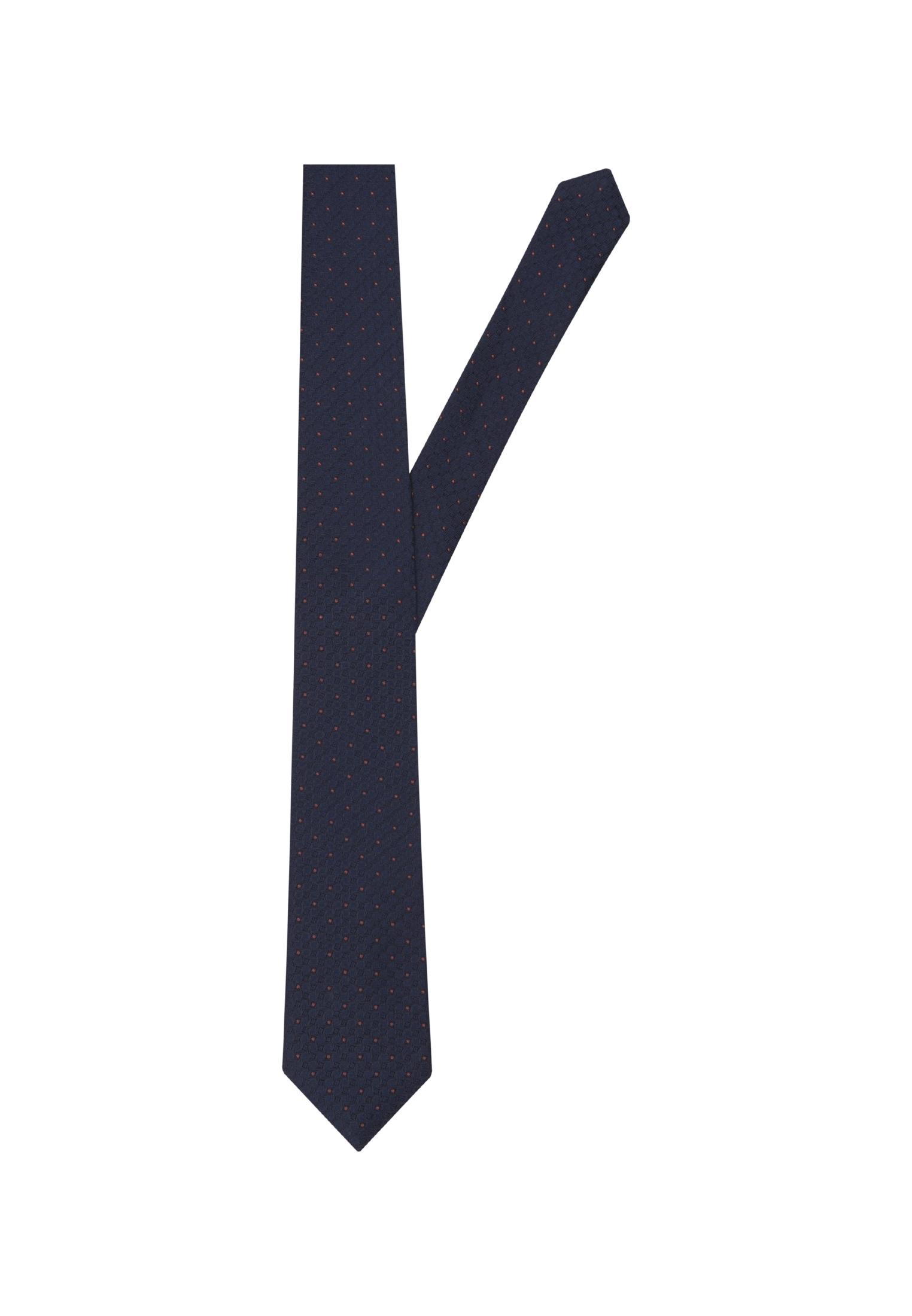 seidensticker -  Krawatte Schwarze Rose, Breit (7cm) Punkte