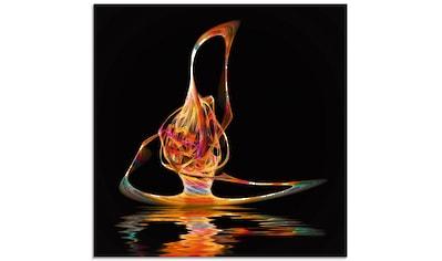 Artland Glasbild »Filigraner Surfer«, Gegenstandslos, (1 St.) kaufen