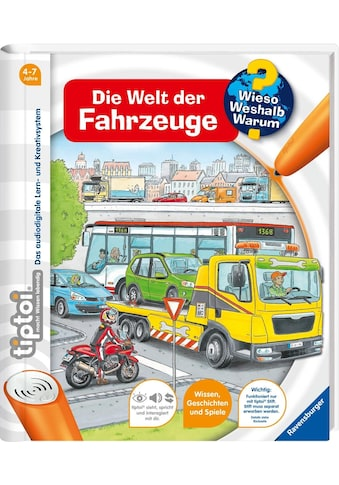 Ravensburger Buch »tiptoi® Die Welt der Fahrzeuge«, Made in Europe kaufen