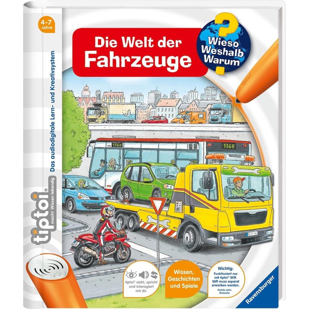 Ravensburger Buch »tiptoi® Die Welt der Fahrzeuge«, Made in Europe