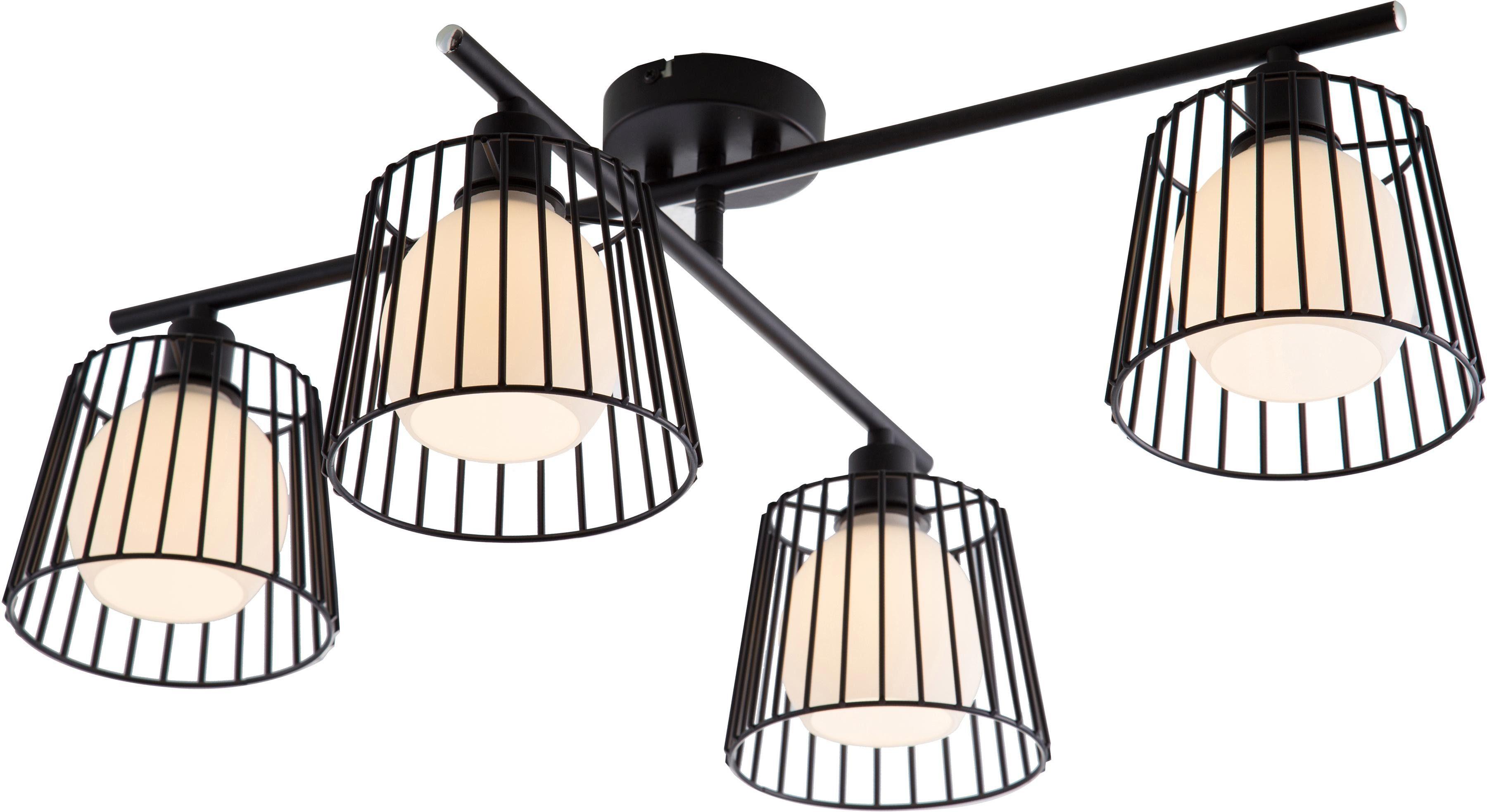 Nino Leuchten Deckenleuchte PRISO, E14, 1 St., Deckenlampe