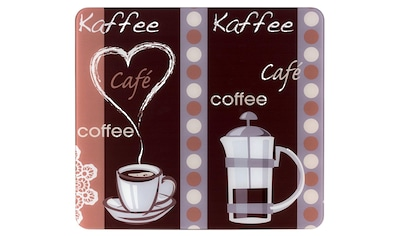 """WENKO Schneide -  und Abdeckplatte """"Kaffeeduft"""", Glas kaufen"""