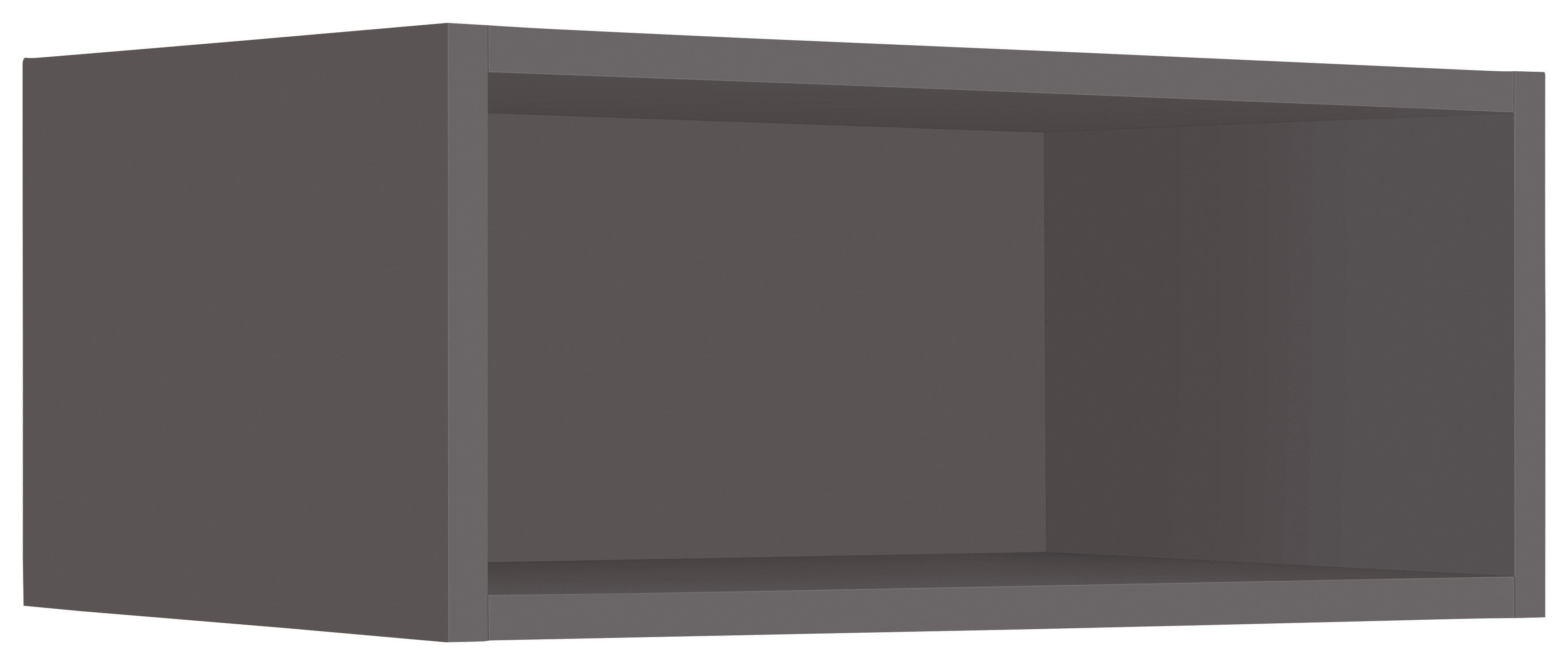 wiho Küchen Hängeregal Flexi2, Breite 50 cm grau Hängeregale Wandregale Wandboards Regale
