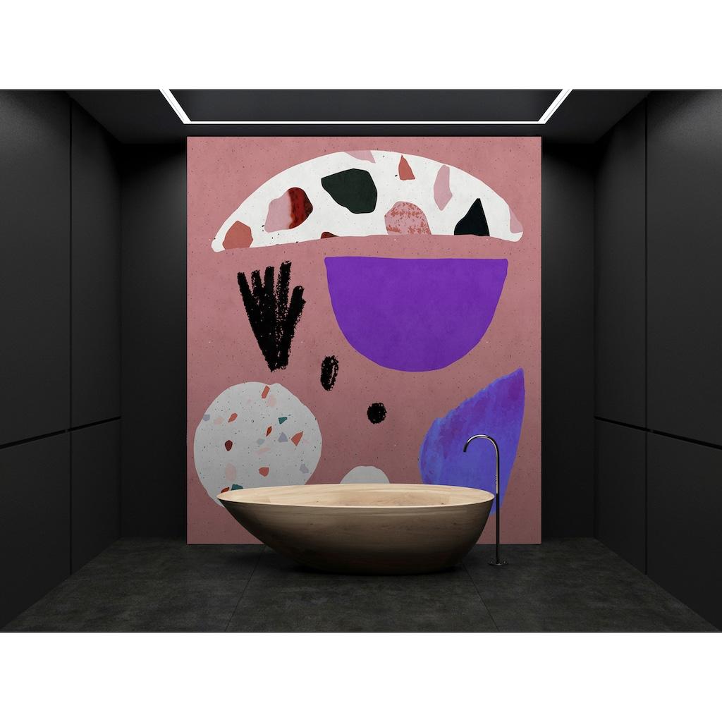 living walls Fototapete »Walls by Patel Terrazzo 5«