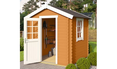 OUTDOOR LIFE PRODUCTS Gartenhaus »Mosel 1«, BxT: 220x220 cm, inkl. Fußboden kaufen