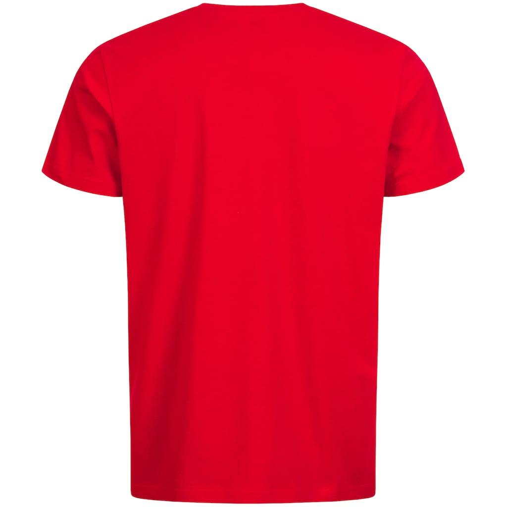 Lonsdale T-Shirt »DEREHAM«, mit seitlichem Logo-Print