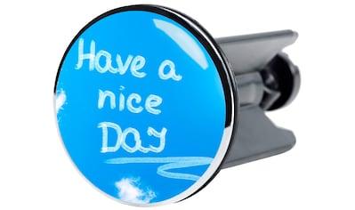 Sanilo Waschbeckenstöpsel »Have a nice day«, Ø 4 cm kaufen