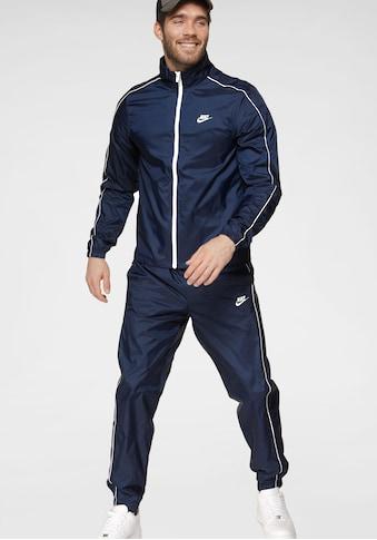Nike Sportswear Trainingsanzug »M NSW CE TRK SUIT WVN BASIC«, (Set, 2 tlg.), Kontrastdetails kaufen