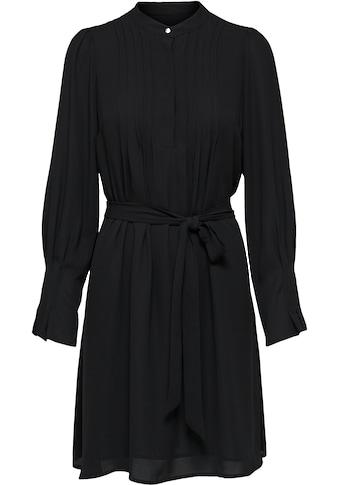 SELECTED FEMME Blusenkleid »SLFLIVIA«, mit Taillenband und Biesen kaufen