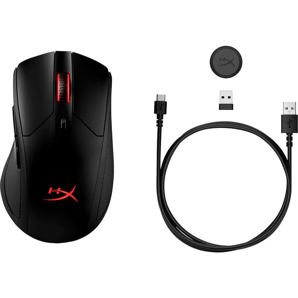HyperX »Pulsefire Dart Wireless« Gaming-Maus (Funk, 16000 dpi)