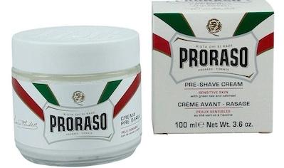 PRORASO Rasiercreme »Preshave Cream White«, Rasurvorbereitung kaufen