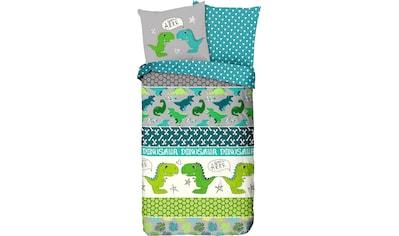 good morning Kinderbettwäsche »Dinosaur«, mit Dinos kaufen