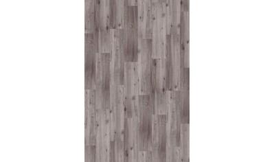 INFLOOR Teppichfliese »Velour Holzoptik Eiche grau«, selbsthaftend 25 x 100 cm kaufen